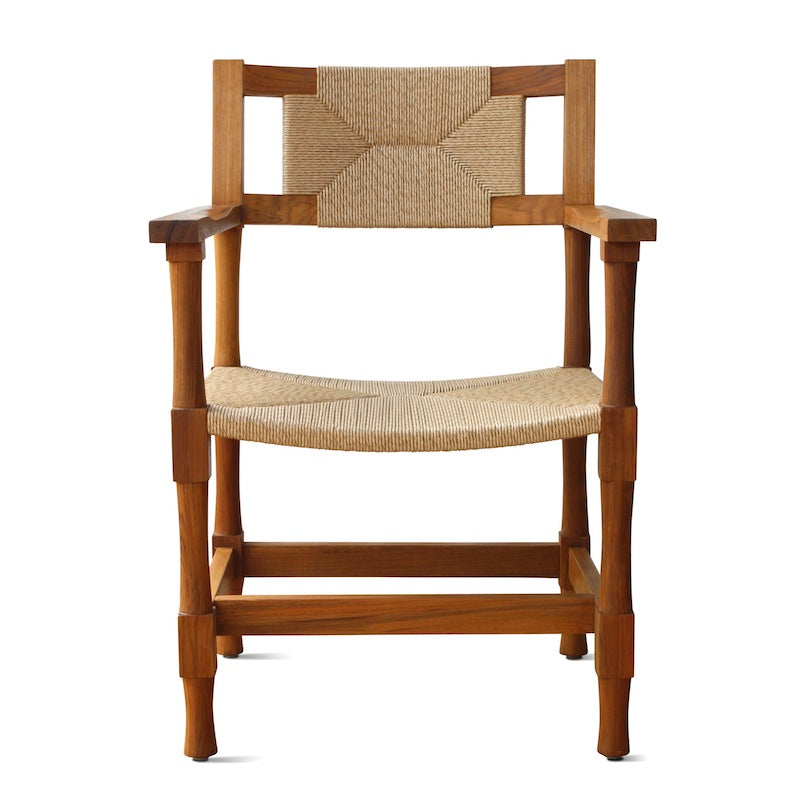 Indoor/Outdoor New York Athletic Club Dining Armchair