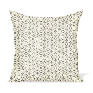Peter Dunham Textiles Kumbh in Ash/Natural Pillow