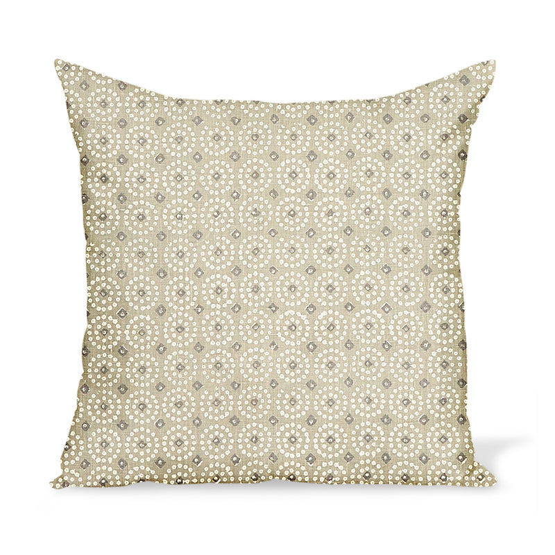 Peter Dunham Textiles Sari in Ash Pillow