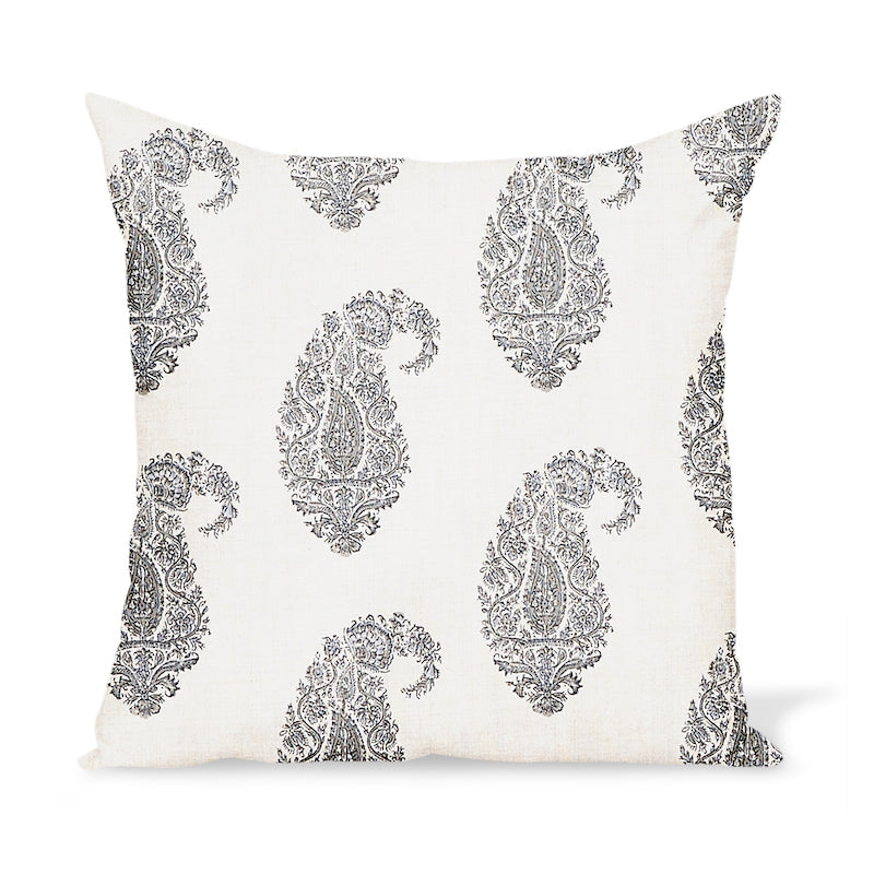 Peter Dunham Textiles Shiraz in Charcoal/Natural Pillow
