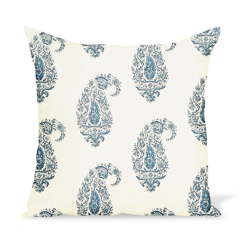 Peter Dunham Textiles Shiraz in Blue/Blue Pillow