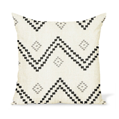 Peter Dunham Textiles Taj in Onyx/Ash Pillow