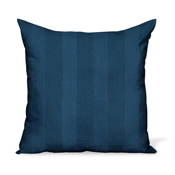 Peter Dunham Textiles Outdoor Asilah in Midnight Pillow