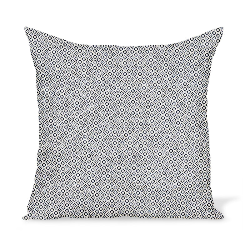 Peter Dunham Textiles Outdoor Heera in Indigo Pillow