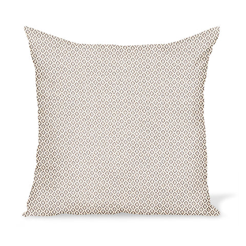 Peter Dunham Textiles Outdoor Heera in Stone Pillow
