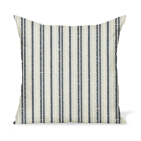 Peter Dunham Textiles Outdoor Majorelle in Ocean Pillow