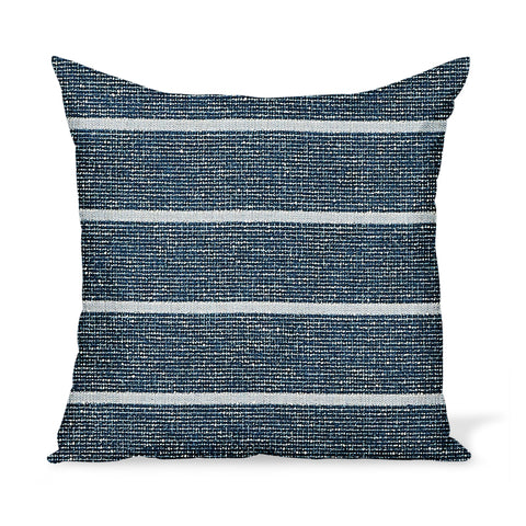 Peter Dunham Textiles Outdoor Mica in Indigo Pillow