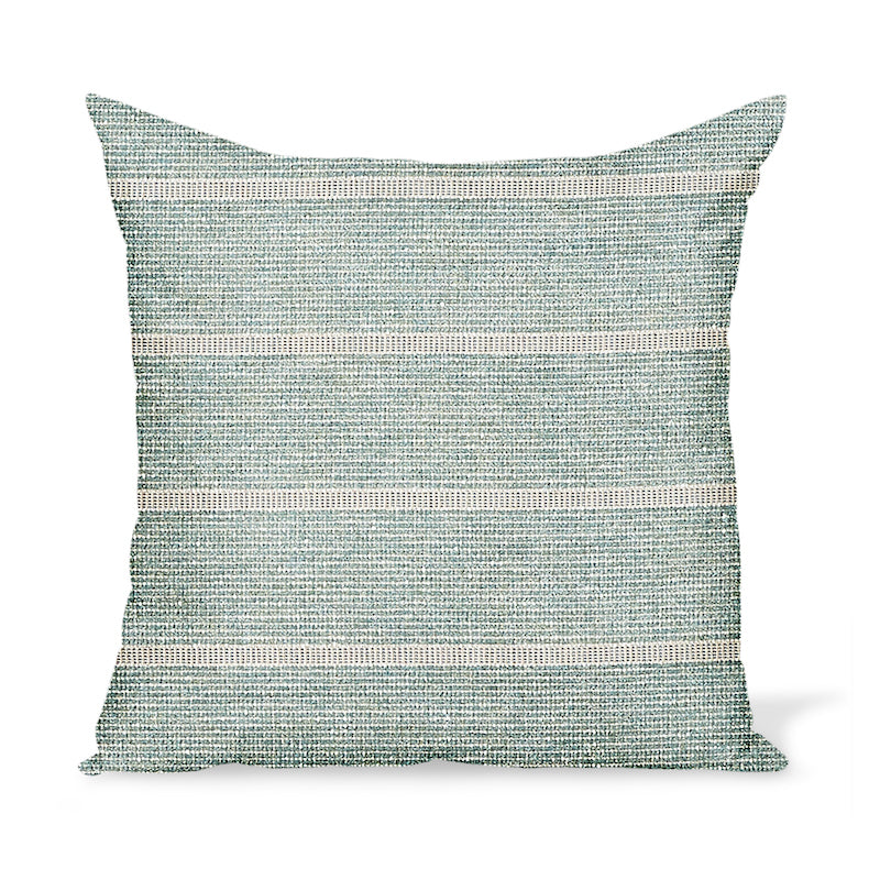 Peter Dunham Textiles Outdoor Mica in Ocean Pillow