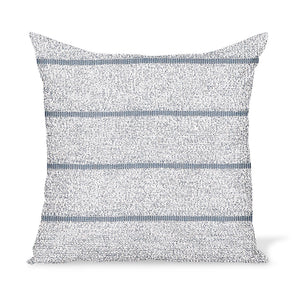Peter Dunham Textiles Outdoor Mica in Platinum Pillow