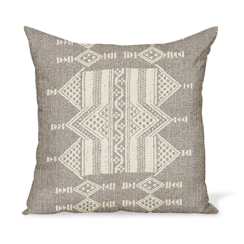 Peter Dunham Textiles Outdoor Mombasa in Taupe Pillow