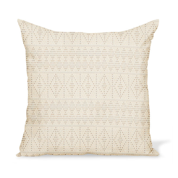 Peter Dunham Textiles Outdoor Souk in Stone Pillow
