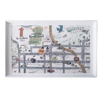 Hollywood at Home Star Map Tray- Available in Small & Large