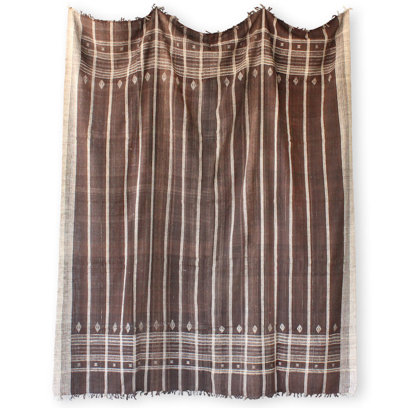 Indian Bedcover in Brown
