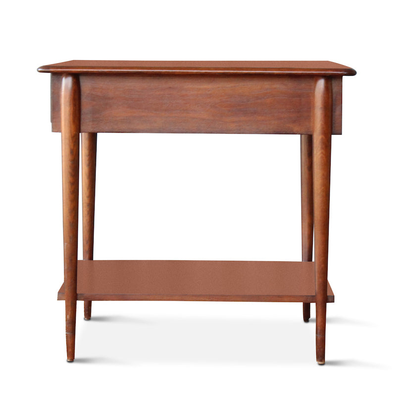 ... Our Walnut Two Tiered End Table Was Inspired By Mid Century End Tables  Hollywood ...