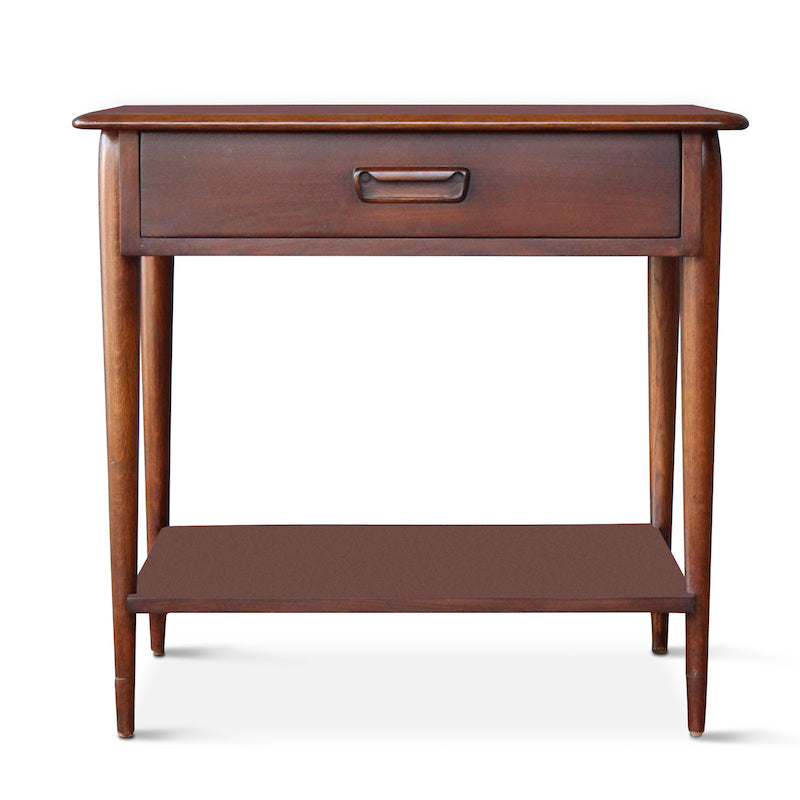Our Walnut Two Tiered End Table Was Inspired By Mid Century End Tables  Hollywood ...