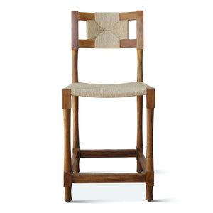 Indoor/Outdoor New York Athletic Club Counter Stool