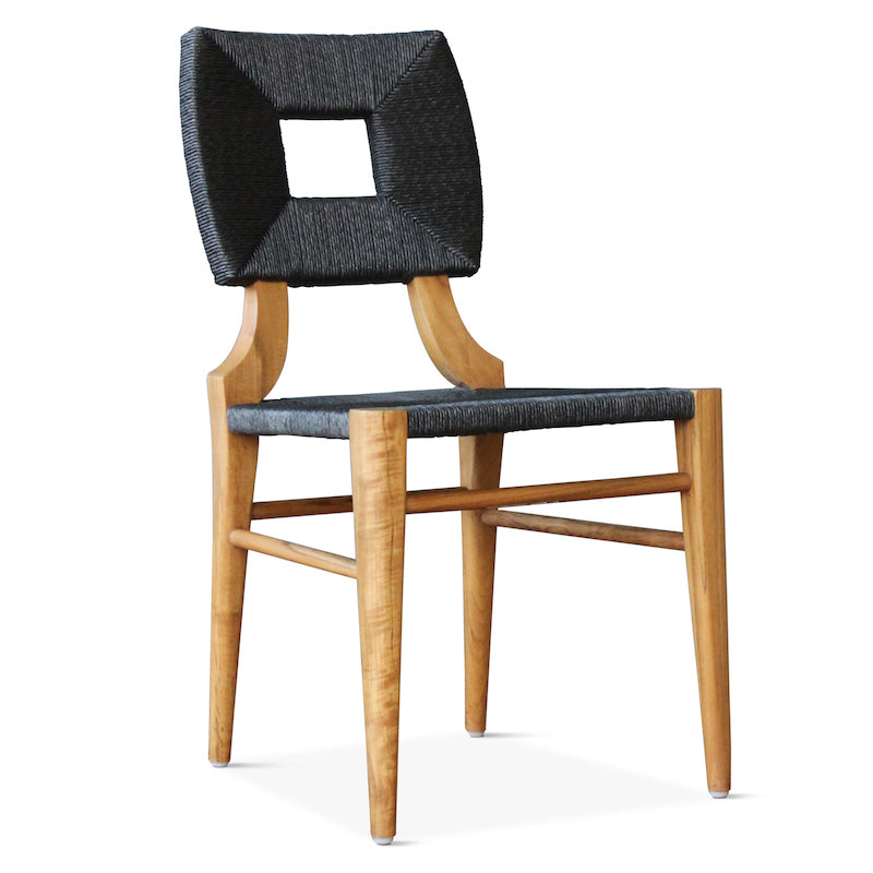 Outdoor How to Marry a Millionaire Dining Chair in Charcoal
