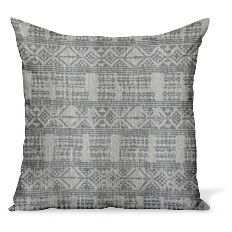 Peter Dunham Textiles Addis in Ash Pillow