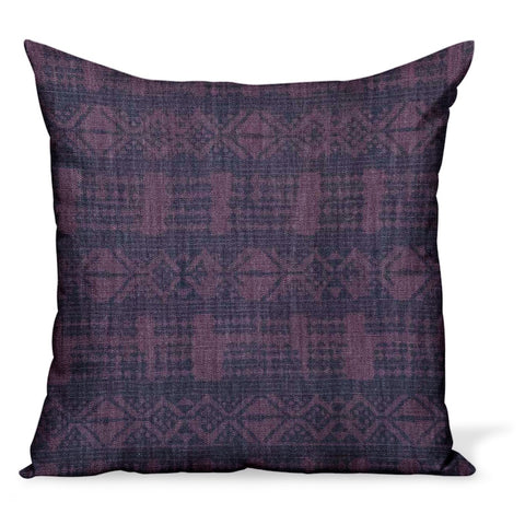 Peter Dunham Textiles Addis in Midnight/Pasha Pillow