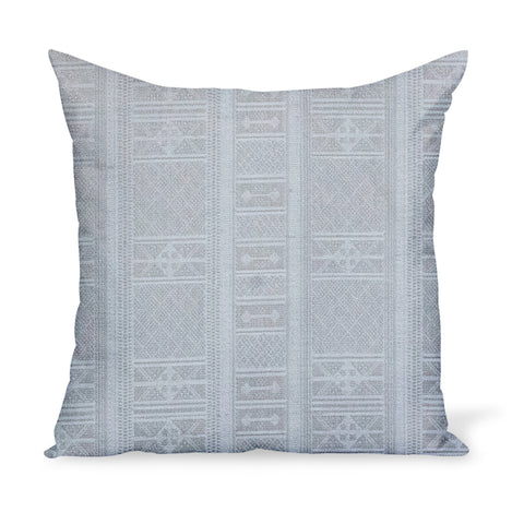 Peter Dunham Textiles Sunbrella neutral Masai tribal stripe for indoor/outdoor use, pillow or cushion in various sizes
