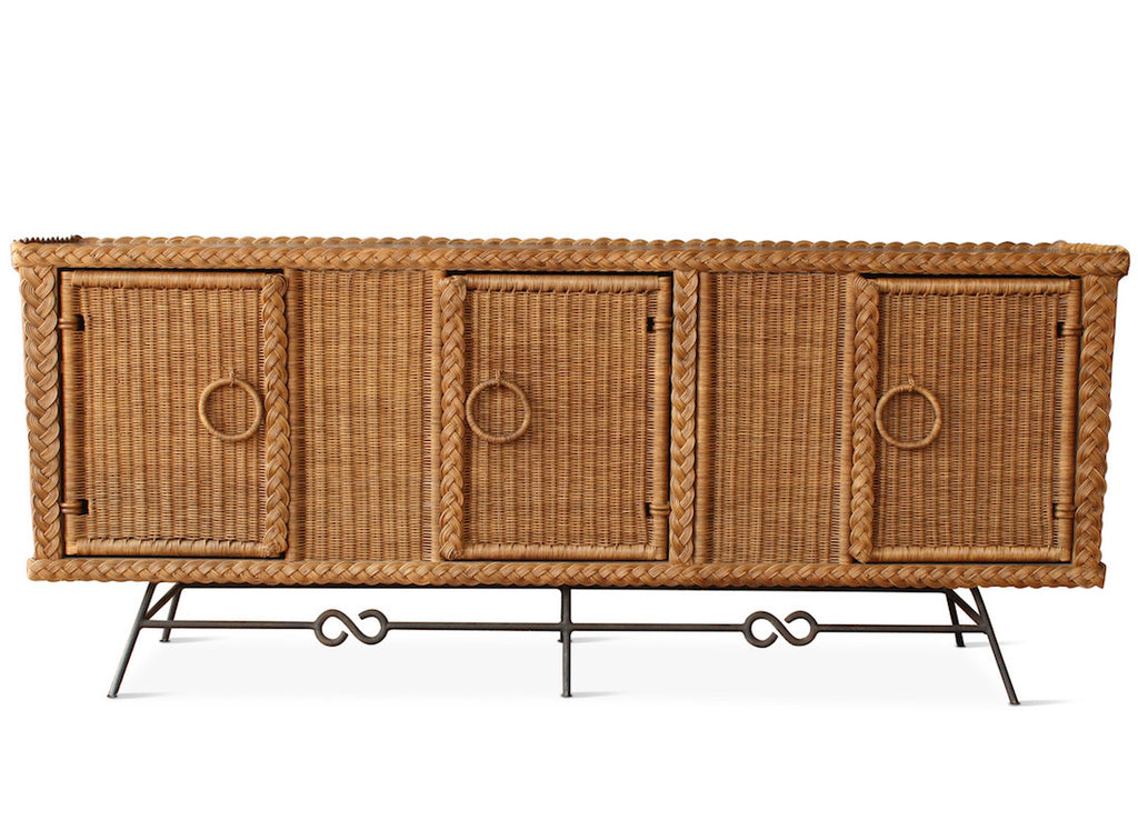 Our Wonderful Wicker Credenza Is The Perfect Casual Yet Chic Addition To  Your Living Space.
