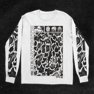 Scales White Long Sleeve