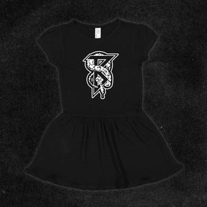 Snake B Toddler Ruffle Dress