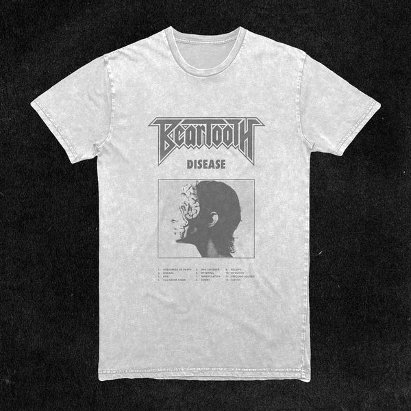 Washed Cover Art T-Shirt (White)