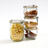 Weck Jars: Stackable Glass Containers
