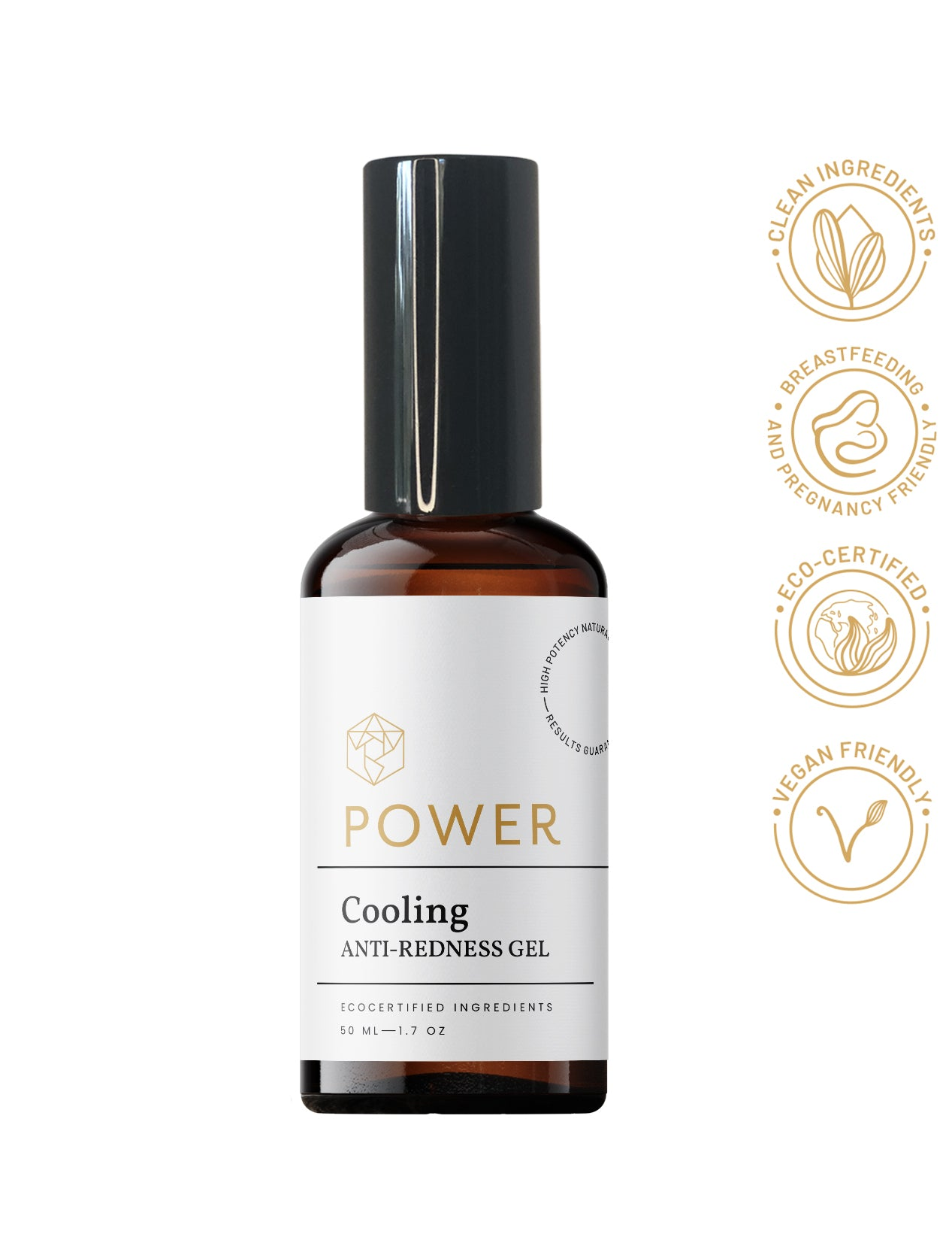 Cooling Anti-redness Gel for Rosacea by Power Skin Solutions