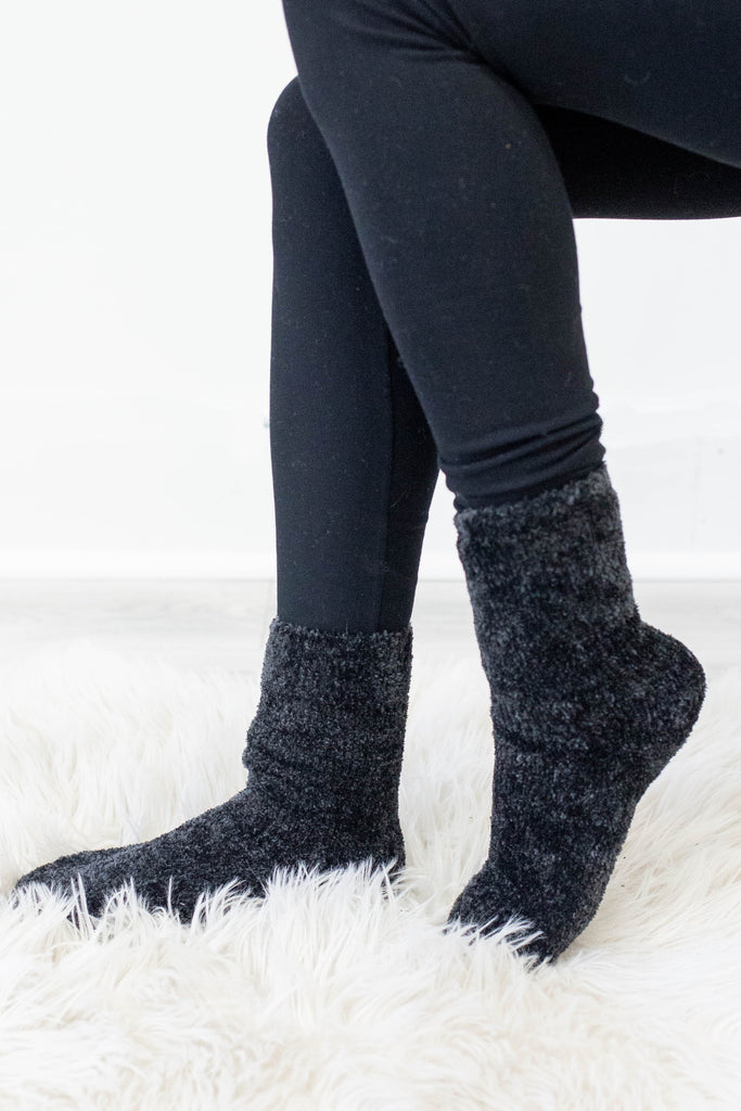 Cozy Chenille Socks - Online Clothing Boutique