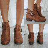 CHASE-5 Ankle Booties - Online Clothing Boutique