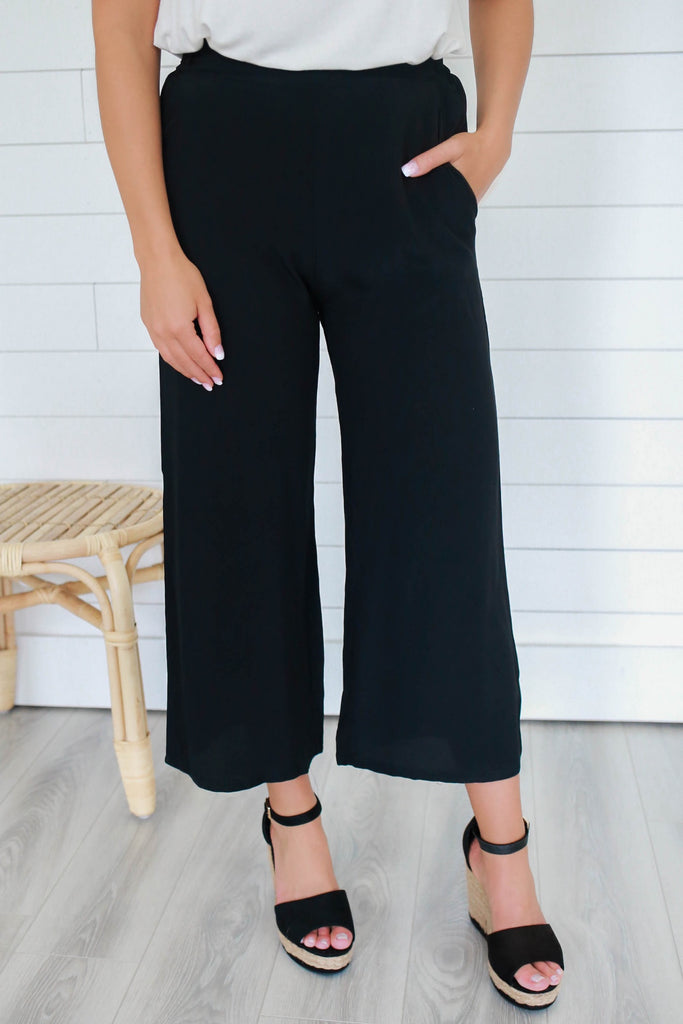 High Waisted Wide Leg Pants - Online Clothing Boutique