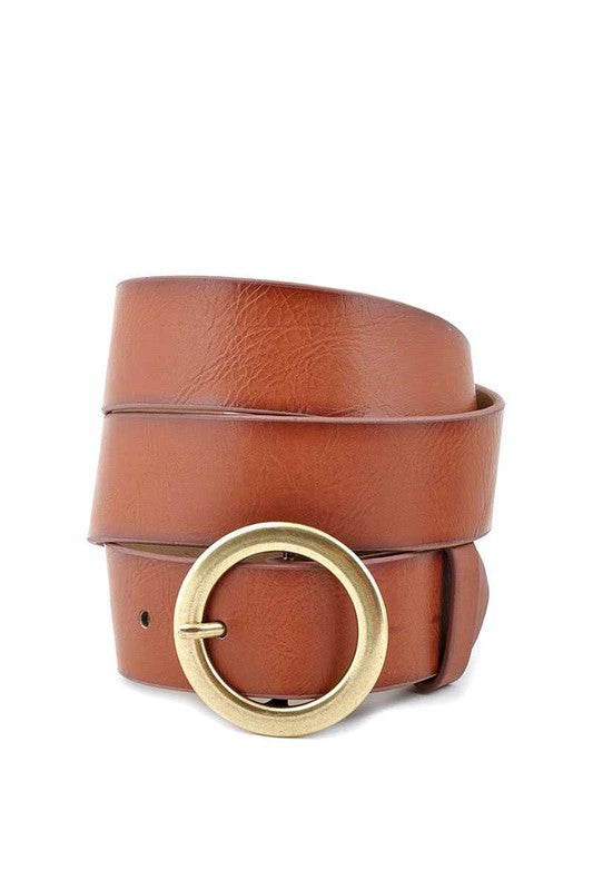 Told You So Belt - Cognac
