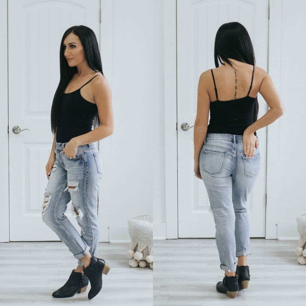 Cami Strap Bodysuit - Online Clothing Boutique