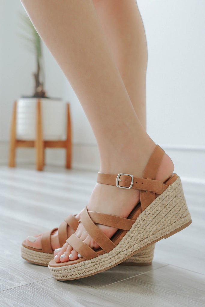 JUBILEE-S Espadrille Wedges - Online Clothing Boutique