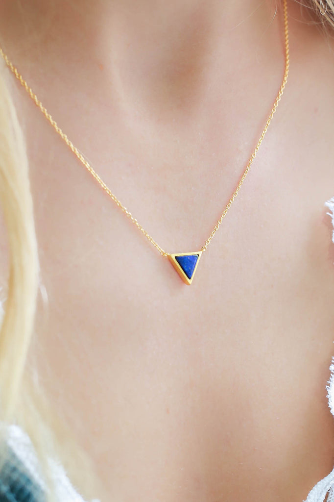 Triangle Necklace - Online Clothing Boutique