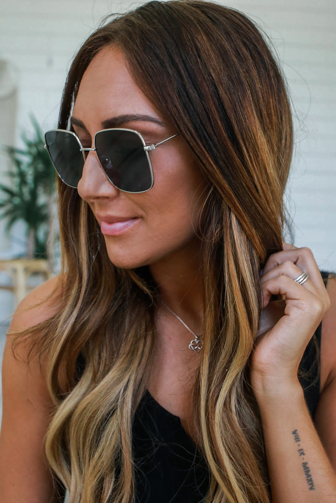 Square Sunglasses - Online Clothing Boutique