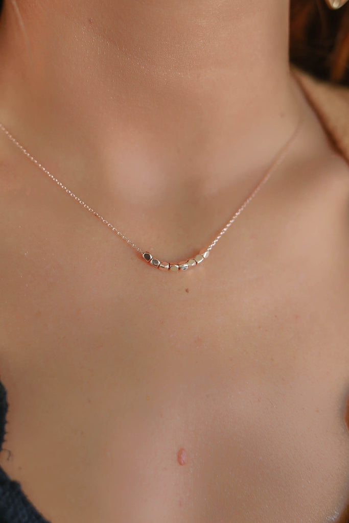 Rose Gold Necklace - Online Clothing Boutique