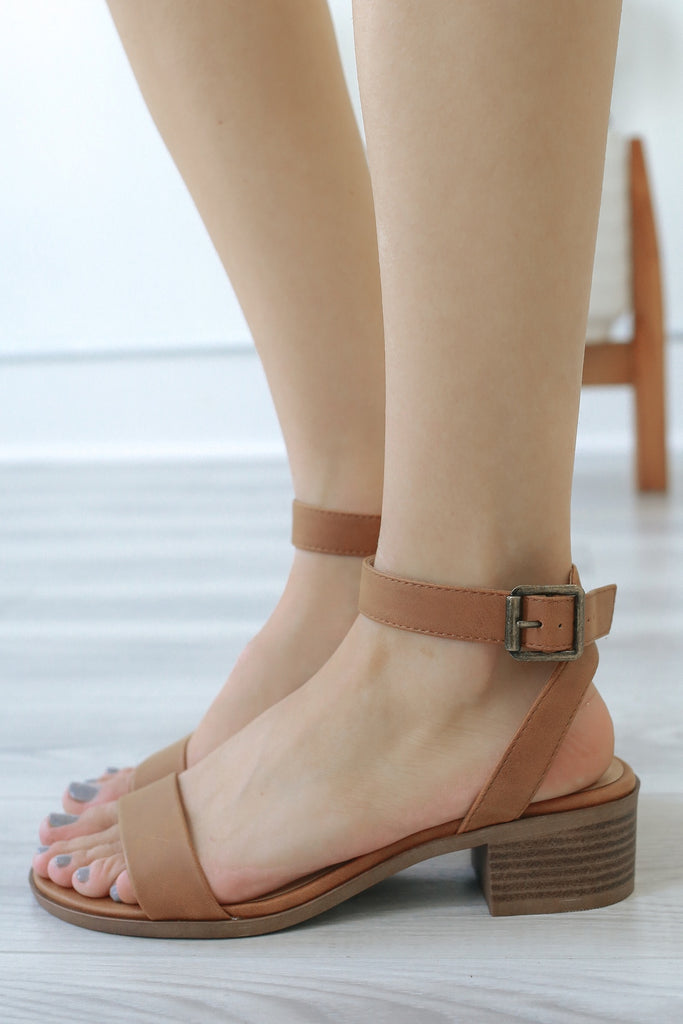 JAR-S Heeled Sandals - Online Clothing Boutique