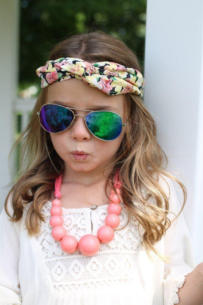 Kids Floral Soft Cotton Headband