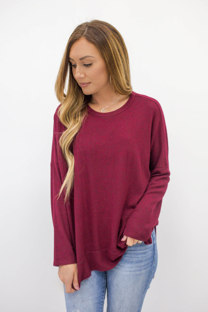Oversized Sweater - Online Clothing Boutique