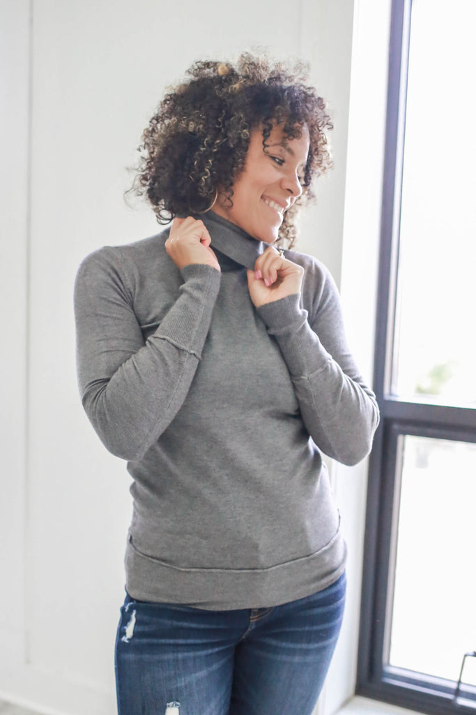 Turtleneck Sweater - Online Clothing Boutique