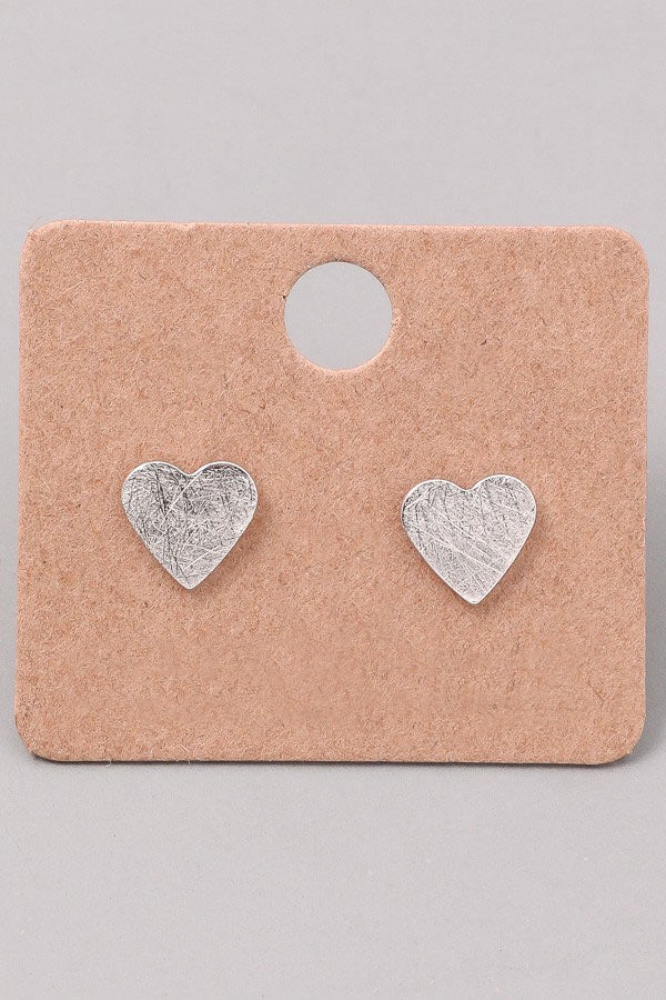 Heart Earrings - Online Clothing Boutique