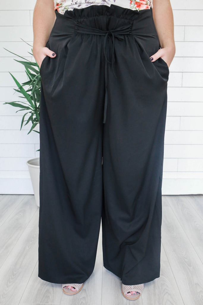 Plus Size Wide Leg Pants - Online Clothing Boutique