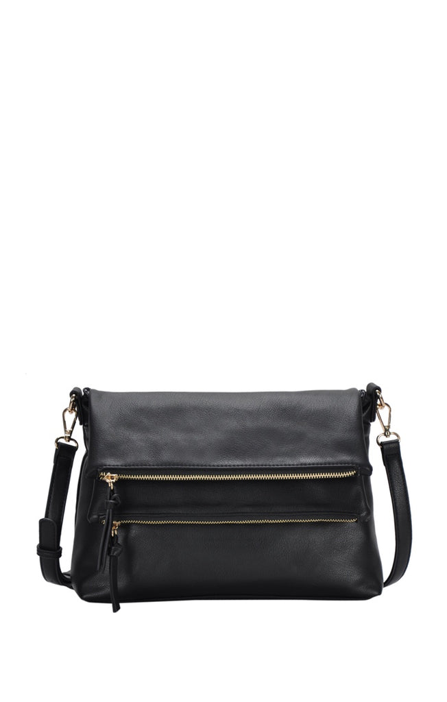 Soft Faux Leather Crossbody Bag - Online Clothing Boutique