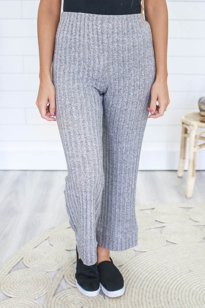 Wide Leg Lounge Pants - Online Clothing Boutique