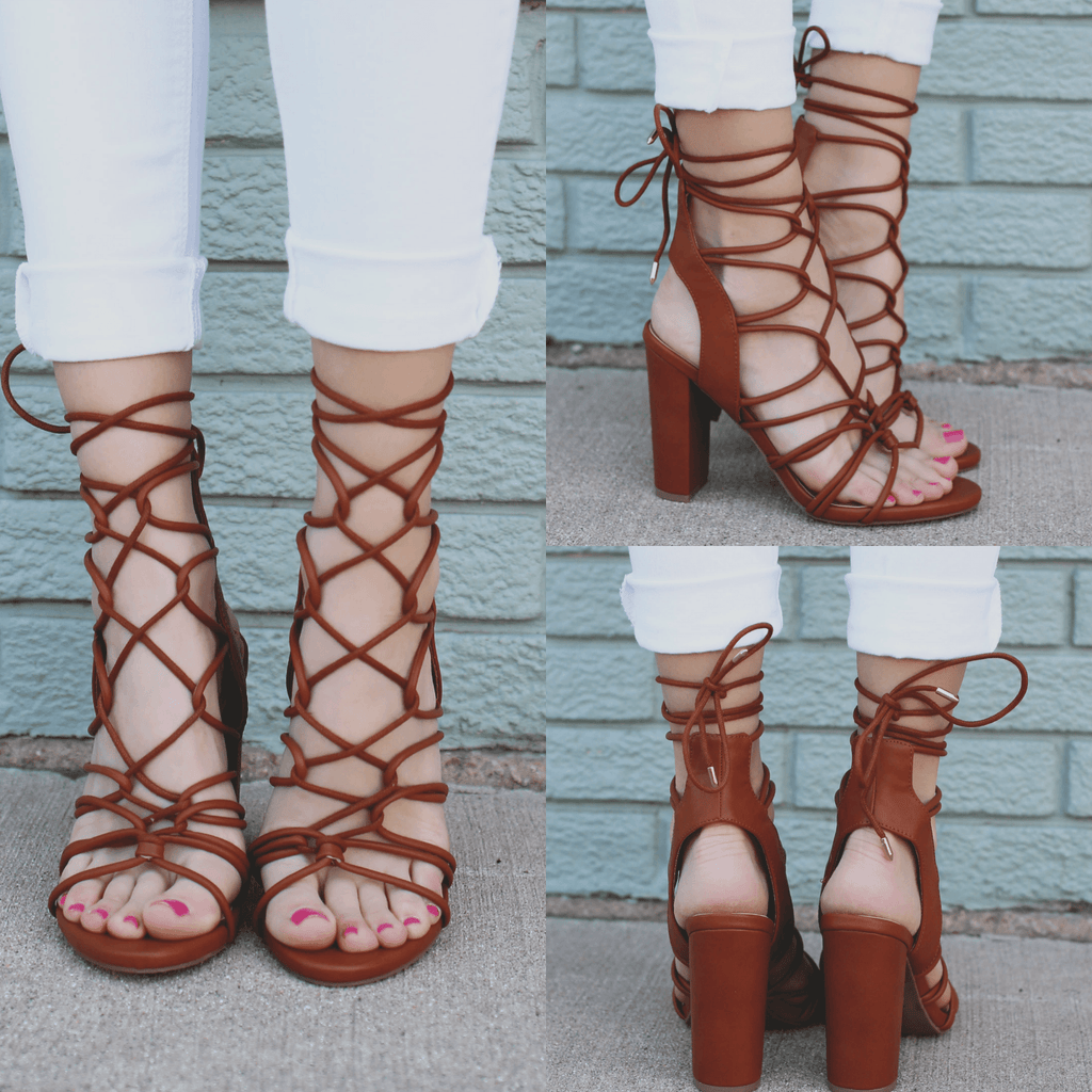Strappy Caged Open Toe Heels morris-11
