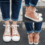 SPunky-03 High Top Sneakers - Online Clothing Boutique