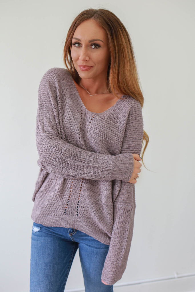 Knit Sweater - Online Clothing Boutique